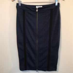 Anthropologie Shades of Grey knit pencil skirt S